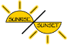 Sunrise Photographs Logo
